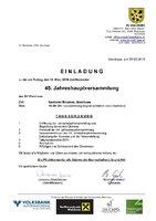 45. Jahreshauptversammlung des SV Walchsee