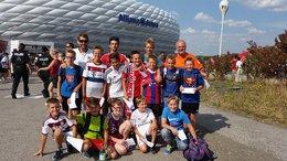U-14 beim Audi-Cup in München